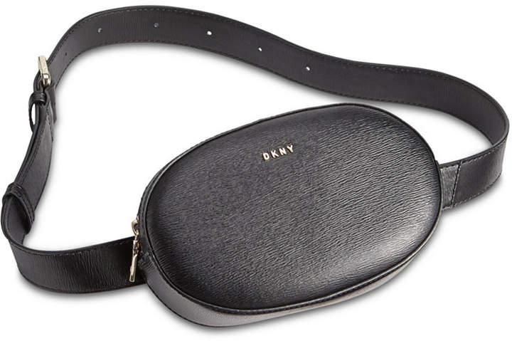 DKNY Paige Leather Circle Belt Bag