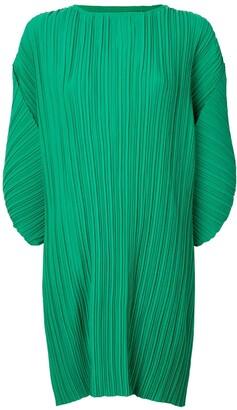 Bambah Pleated Mini Dress