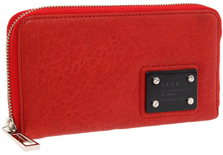 Thumbnail for your product : L.A.M.B. Trademark Zip Around Wallet