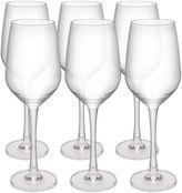 Zak Designs Trinity Set of 6 White Wine Glasses