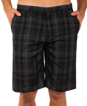 "Hurley Men's Granada 22"" Plaid Shorts"