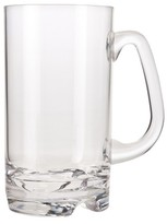 Prodyne Polycarbonate Beer Mug Set of 4 - Clear (18 oz)