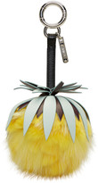 Fendi Yellow Fruits Pineapple Keychain