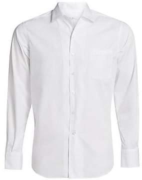 Loro Piana Men's Andre Cotton Button-Down Shirt