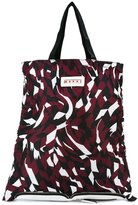Marni convertible shutter print shopper tote - women - Calf Leather - One Size