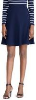 Lauren Ralph Lauren Flared Ponte Skirt