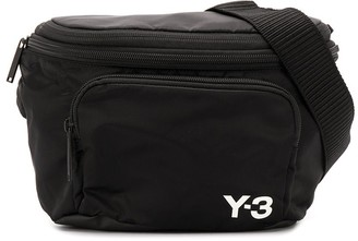 Y-3 Logo-Print Belt Bag