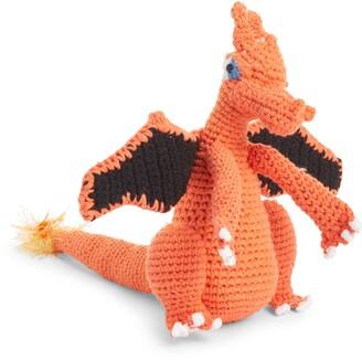 WARE OF THE DOG Organic Cotton Crochet Dragon Dog Toy