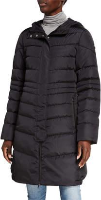 Bogner Lelia Long Hooded Down Jacket
