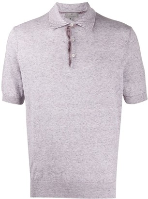 Canali slim-fit polo shirt