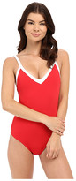 Seafolly Block Party Sweetheart Maillot One-Piece