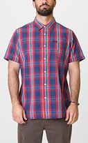 RVCA Men's Run On Short Sleeve Shirt