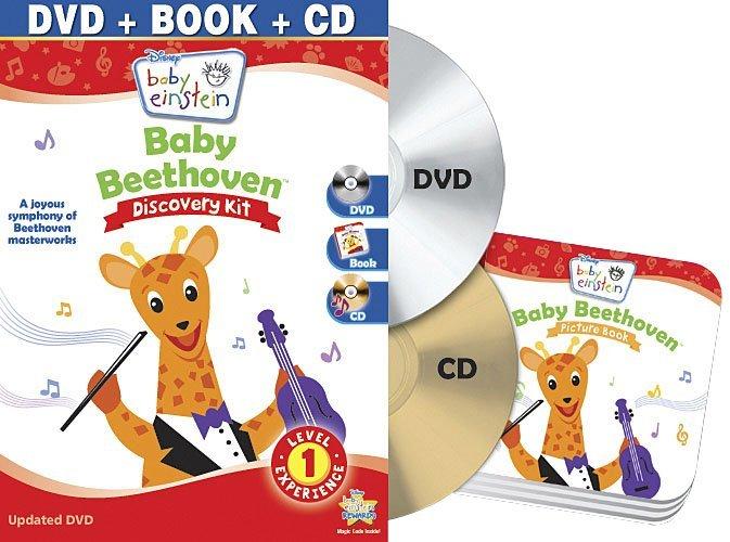 Baby Einstein Disney Baby Beethoven Discovery Kit DVD