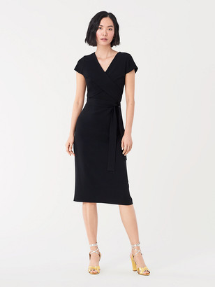 Diane von Furstenberg Kace Stretch Crepe Midi Dress