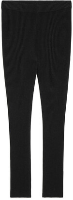 Arket Ribbed Wool Leggings