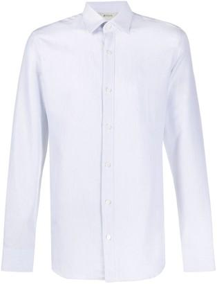 Ermenegildo Zegna Striped Poplin Shirt