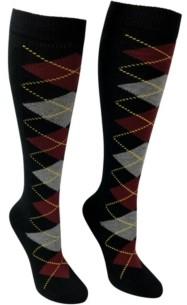 Love Sock Company Women's Knee High Socks - Argyle