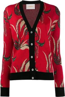 La DoubleJ patterned cardigan