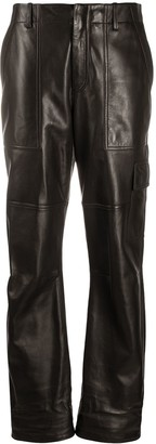 Tom Ford Polished-Finish Trousers