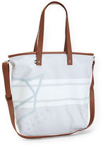 Aeropostale Womens Prince & Fox Canvas Logo Tote