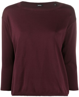 Aspesi Relaxed Knit Top