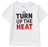 Under Armour Little Boys 2T-7 Turn Up The Heat Short-Sleeve Tee