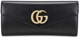 Gucci Broadway Gg Leather Clutch