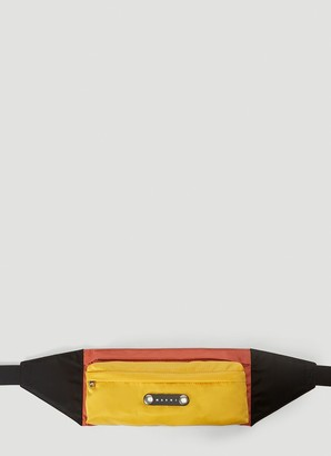 Marni Logo Patch Belt Bag