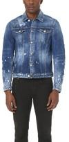 DSQUARED2 Distressed Denim Jacket