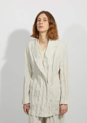 Acne Studios Jay Heavy Linen Suit Jacket