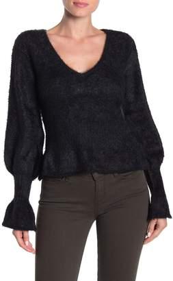 Do & Be Do + Be V-Neck Textured Sweater