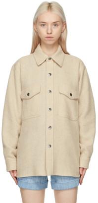 Etoile Isabel Marant Beige Faxon Jacket