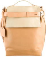 Reed Krakoff Tricolor Leather Satchel