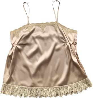 Anna Molinari Pink Silk Top for Women Vintage