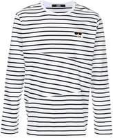 Karl Lagerfeld striped sweatshirt