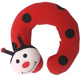 Petite Creations NP246 Infant Neck Pillow - Lady Bug, Red/ Black/ Cream
