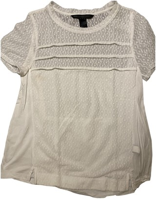Marc by Marc Jacobs White Lace Top for Women