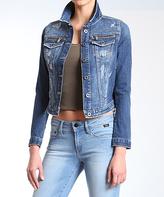 Mavi Jeans Dark Rip Meryl Vintage Jean Jacket - Women