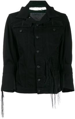 Diesel Frayed Denim Jacket
