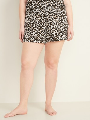 Old Navy Jersey Plus-Size Pajama Shorts -- 4.5-inch inseam