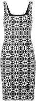 Fausto Puglisi square-neck fitted dress - women - Polyamide/Spandex/Elastane - 42