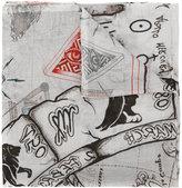 Faliero Sarti tattoo print scarf