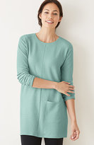 J. Jill Pure Jill Textured One-Pocket Tunic