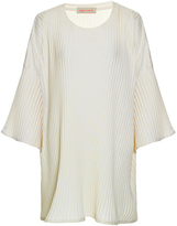Lilly Sarti Oversized Off White Knit Tee