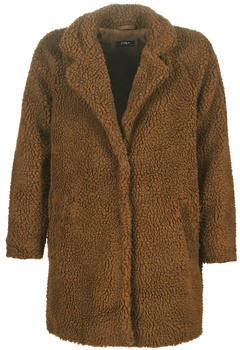 Only ONLAURELIA women's Coat in Brown
