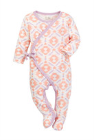 Jessica Simpson Geometric Footie (Baby Girls)