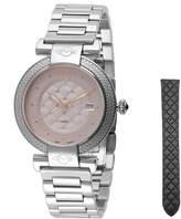 Women's Berletta Diamond Stainless Steel Bracelet Watch