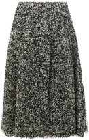 Anrealage pixelated print midi skirt - women - Polyester/Cupro - 38