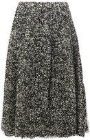 Anrealage pixelated print midi skirt - women - Polyester/Cupro - 40