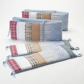 Bacati Stripes & Plaids Crib Bumper